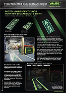 Jalite - Floor Mounted Signs