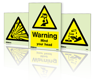 Hazard Warning Jalite Signs