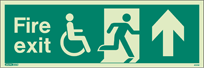 4031U - Jalite Mobility Impaired Fire Exit Sign