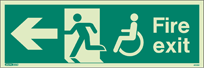 4032U - Jalite Mobility Impaired Fire Exit Sign