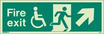 4044U - Jalite Mobility Impaired Fire Exit Sign