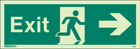 405T - Jalite Exit Sign