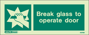 4075M - Jalite Break Glass to operate door