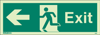 409T - Jalite Exit Sign