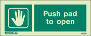 4273M - Jalite Push Pad to Open