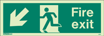 405T - Jalite Fire Exit Sign