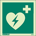4347C - Jalite Emergency Defibrillator Sign