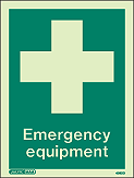 4362D - Jalite Emergency Equipment Sign