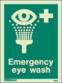 4366D - Jalite Emergency Eye Wash Sign