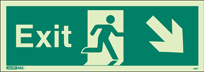 448T - Jalite Exit Sign