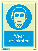 5020D - Jalite Wear Respirator Sign