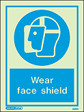 5025D - Jalite Wear Face Shield Sign