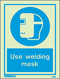 5026D - Jalite Wear Welding Mask Sign