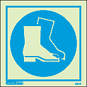 5034C - Jalite Wear foot protection Sign