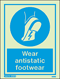 5090D - Jalite Wear Antistatic footwear Sign
