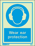 5095D - Jalite Wear Ear Protection Sign