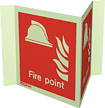 6459P15 - Jalite Fire Point Panoramic Sign