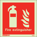 6490C - Jalite Fire Extinguisher Location Sign