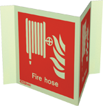 6495P15 - Jalite Fire Hose Location Panoramic Sign