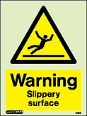 7025D - Jalite Warning Slippery Surface Signs