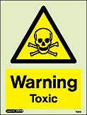 7091D - Jalite Warning Toxic Sign
