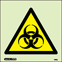 7176C - Jalite Warning Bio-hazard Sign