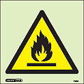 7197C - Jalite Warning Flammable Sign