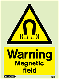 7521D - Jalite Warning Magnetic Field Sign