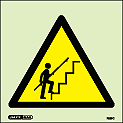 7529C - Jalite Warning Steep Steps Sign