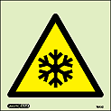 7542C - Jalite Warning Low Temperature Sign