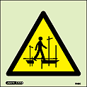 7562C - Jalite Warning Scaffold Incomplete Sign