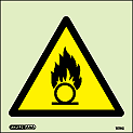 7570C - Jalite Warning Oxidizing Material Sign