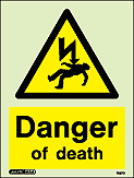 7587D - Jalite Danger of Death Sign